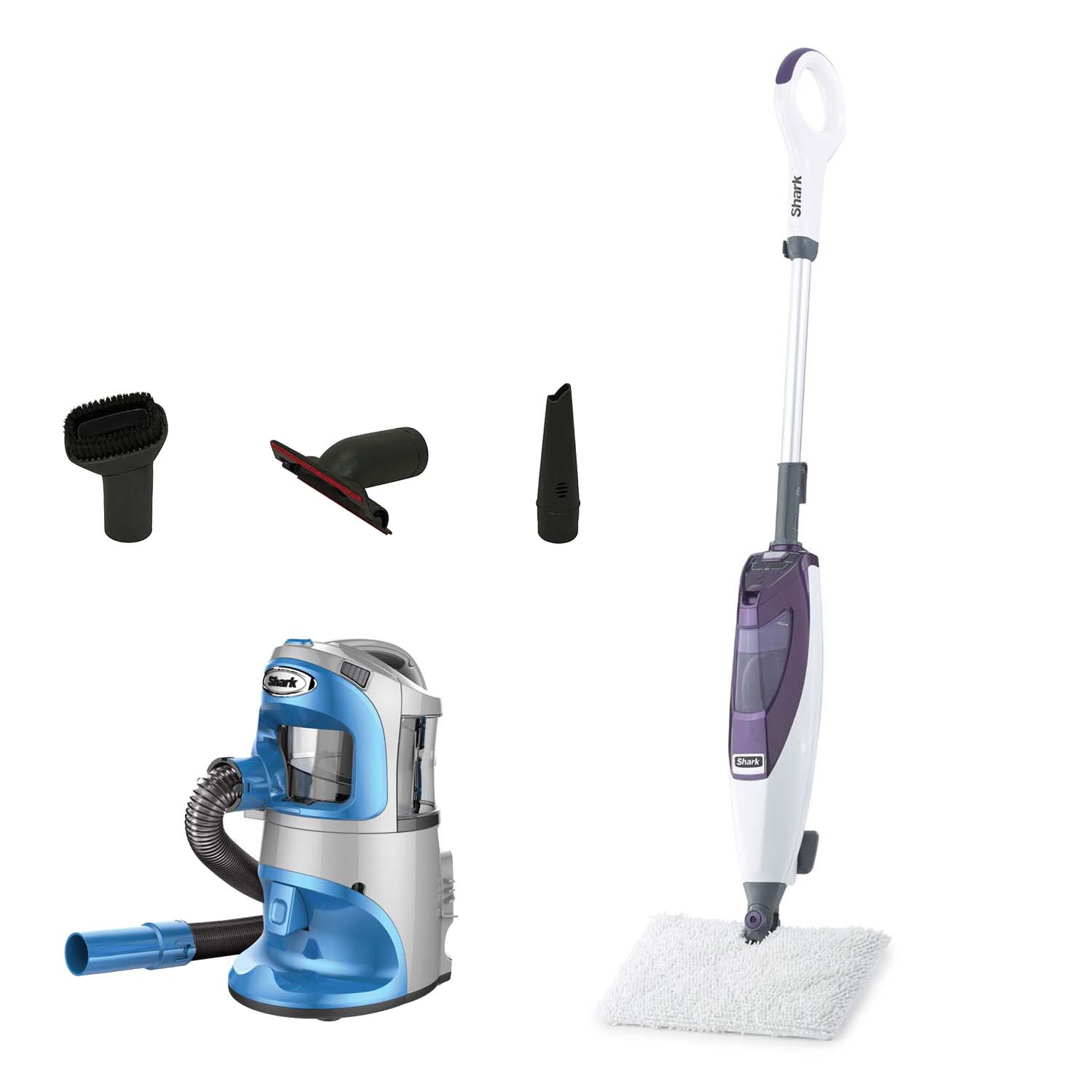 Shark Power Pod Lift-Around Anti-Allergy Vacuum + Swivel Steer Steam Pocket Mop