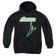 Green Lantern Energy Construct Logo Big Boys Pullover Hoodie