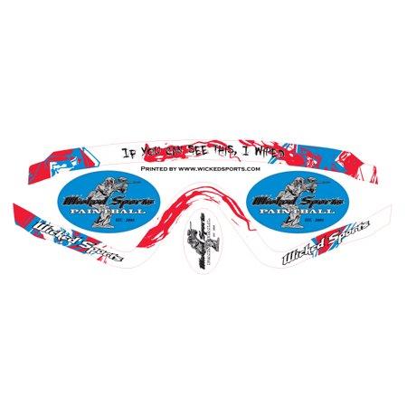 Wicked Sports Goggle Wrap - V-Force Profiler - WS (V-force Profiler Strap)