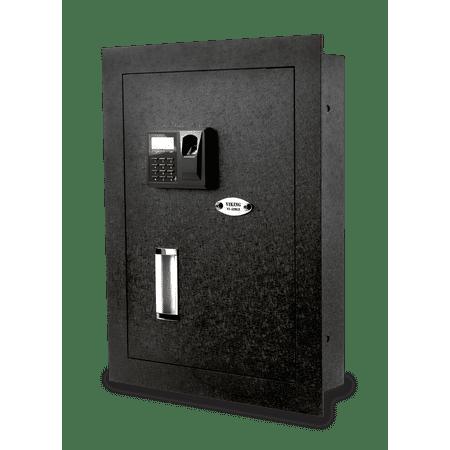 VS-52BLR Hidden Wall Biometric Fingerprint Safe