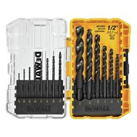 HomeDepot.com deals on DEWALT Black and Gold Drill Bit Set 14-Piece
