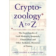 Cryptozoology A To Z - eBook