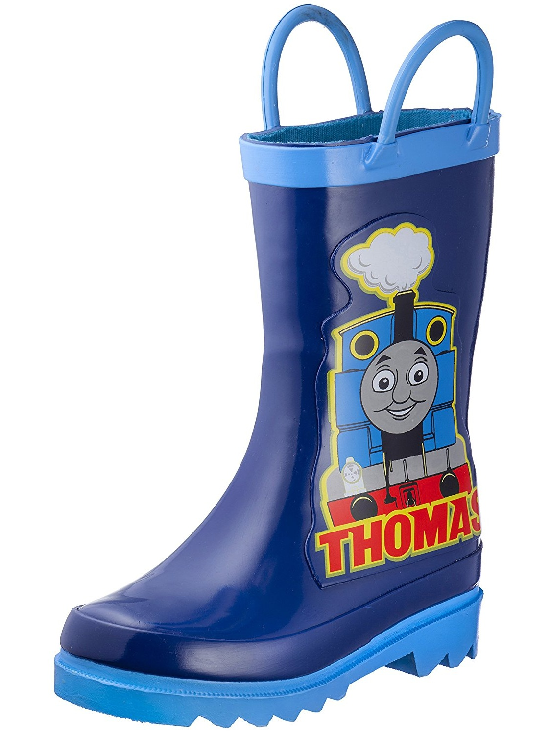 Thomas Amp Friends Thomas The Tank Engine Boy S Blue Rain Boots Toddler Little Kid Walmart Com Walmart Com