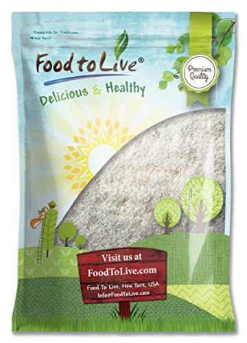 Food To Live Desiccated Coconut (Shredded, Unsweetened, No SO2) (25 Pounds) by Food To Live