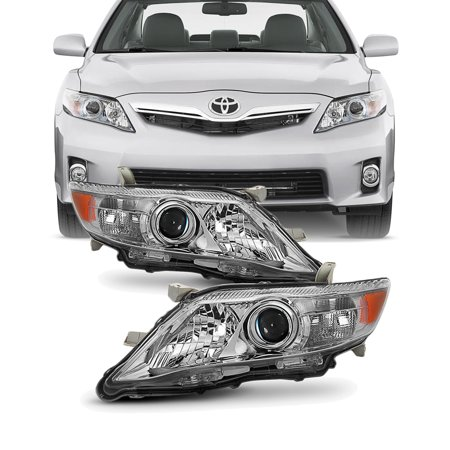 Fits 10-11 Toyota Camry LE XLE [US Built Model] Projector Headlights Replacement Toyota Replacement Headlamp