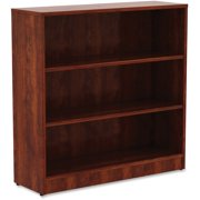 Lorell, LLR99782, Cherry Laminate Bookcase, 1 Each, Cherry