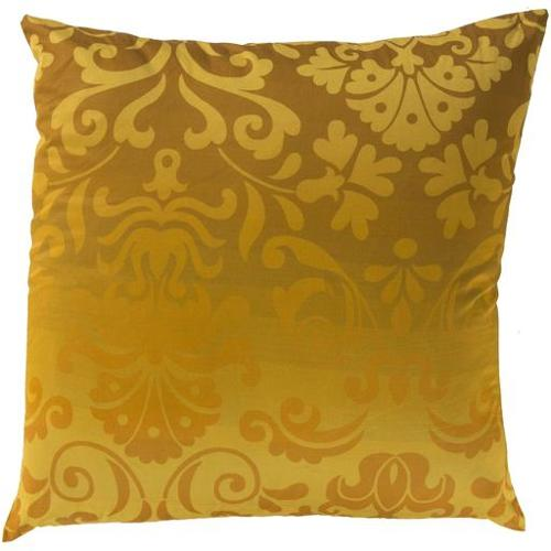 22  Honey Gold And Goldish Brown Royalty Delight Decorative Throw Pillow