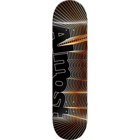 Almost Skateboards Vibrate Orange Skateboard Deck - 8.25