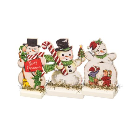 Snowman Stand Up Decorations (Storybook Decorations)