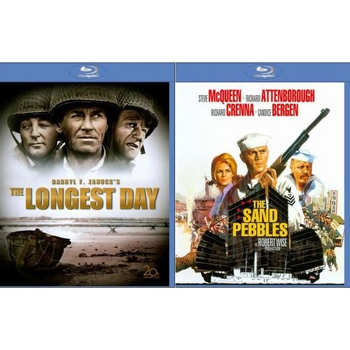 The Longest Day / The Sand Pebbles (Blu-ray) (Widescreen)