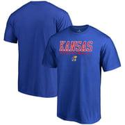 Kansas Jayhawks Fanatics Branded True Sport Basketball T-Shirt - Royal