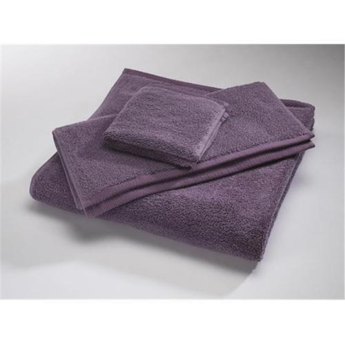 Home Source 10102SHV75 100 Percent Cotton Shower Towel - Eggplant