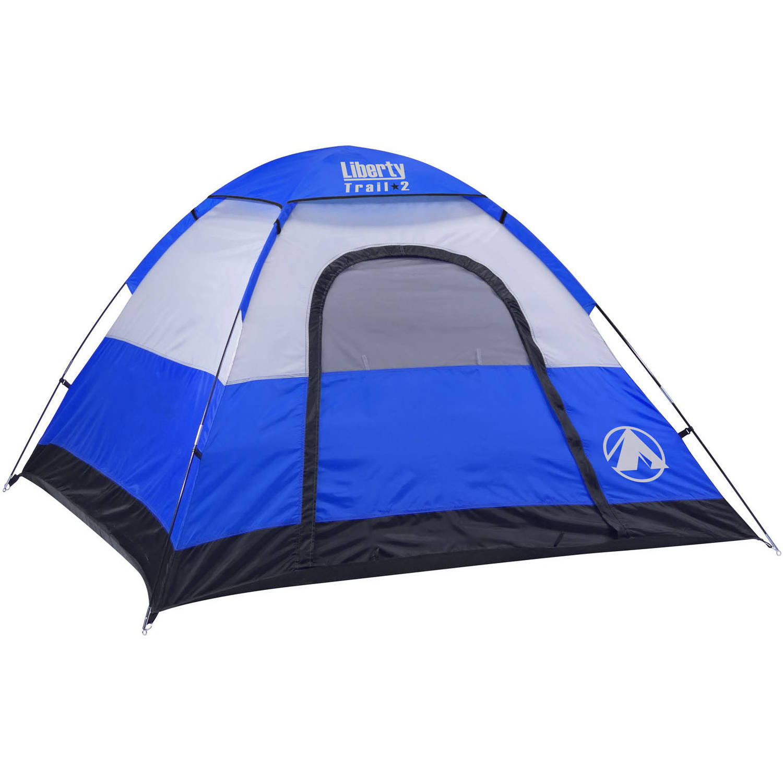 sc 1 st  Walmart & GigaTent Liberty Trail 2 7u0027 x 7u0027 Dome Tent Sleeps 3 - Walmart.com