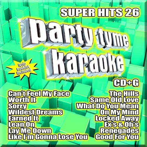 Party Tyme Karaoke: Super Hits 26 (CD)