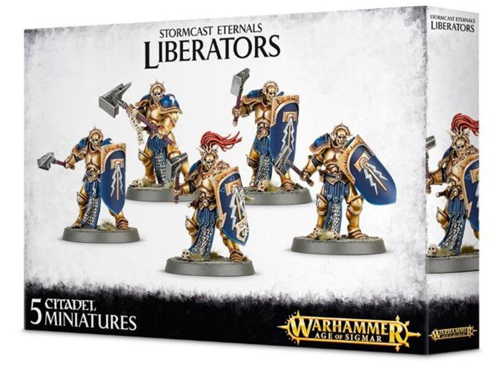 Warhammer Age of Sigmar Stormcast Eternals Liberators by Games Workshop