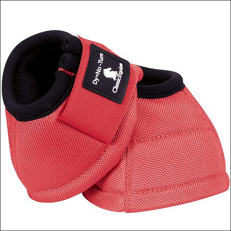 LARGE CORAL CLASSIC EQUINE DYNO HORSE NO TURN BELL BOOTS PAIR