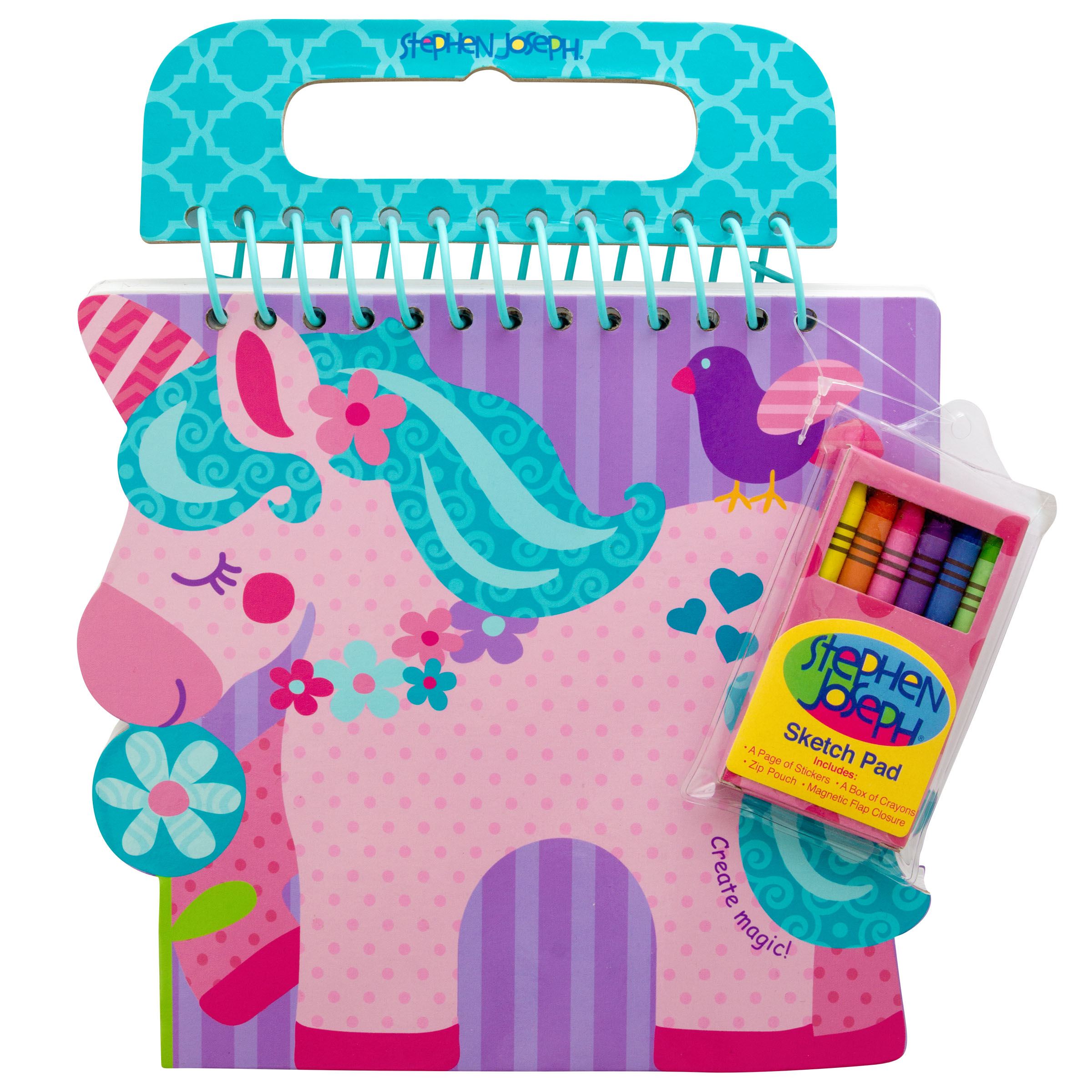 Shaped Sketch Pad, Unicorn