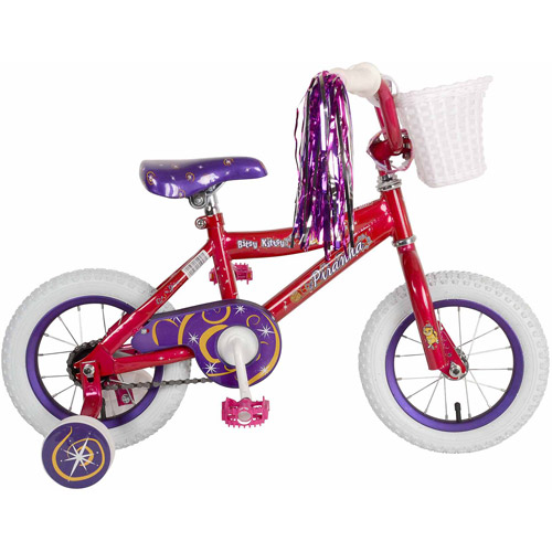 "12"" Piranha Bitsy Kitsy Girls' Bicycle, Pink by Cycle Force Group"