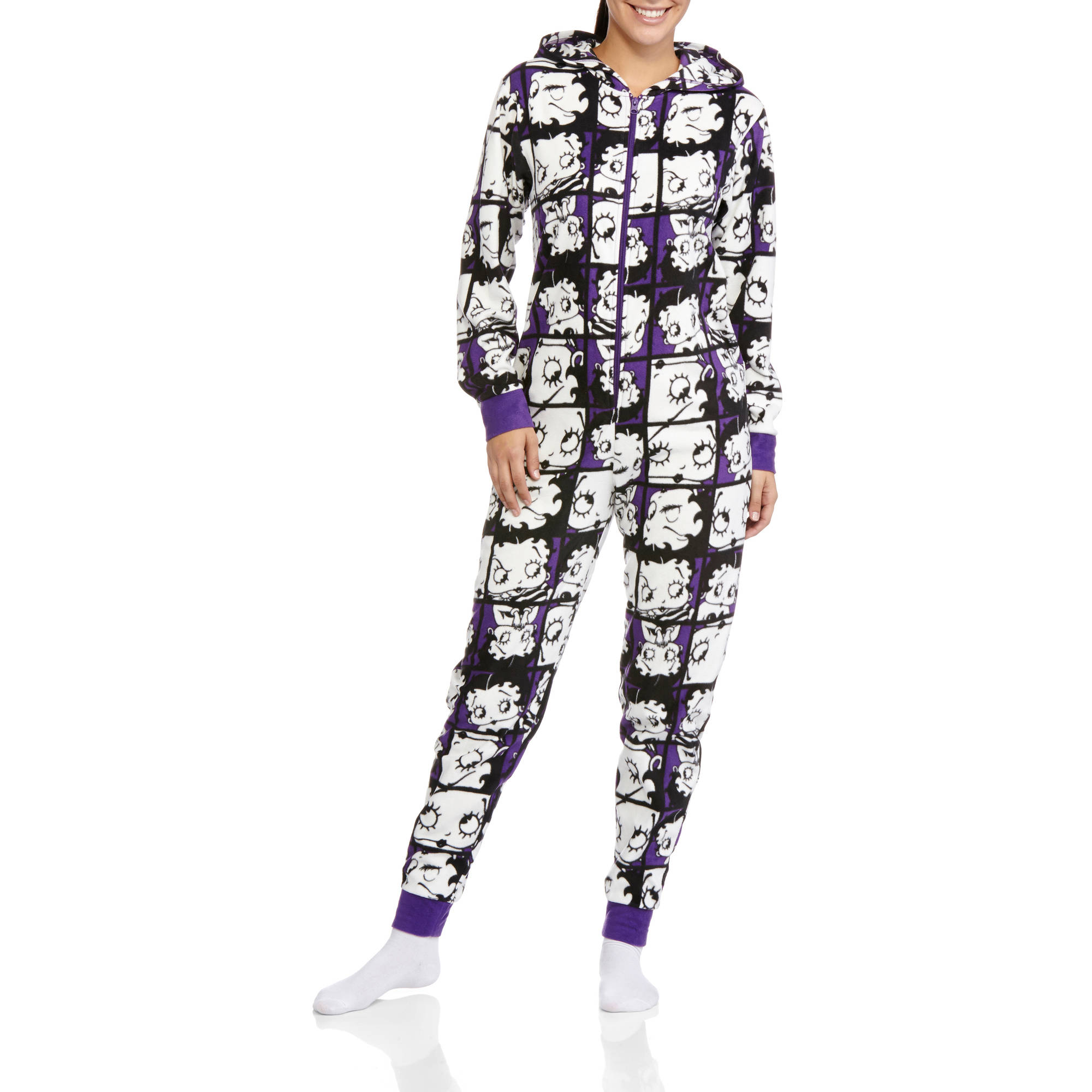 Plus Size Betty Boop Pajamas Breeze Clothing