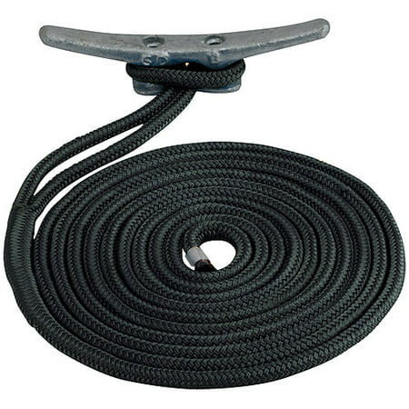 Dock Line Rope (Sea Dog Dock Line, Double Braided Nylon, 1/2