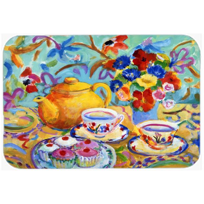 Carolines Treasures HWH0011MP Teal Tea by Wendy Hoile Mouse Pad, Hot Pad or Trivet - image 1 of 1