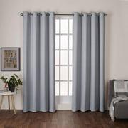 window curtains for living room. Exclusive Home Heath Textured Linen Woven Room Darkening Grommet Top Window  Curtain Panel Pair Dove Living Curtains