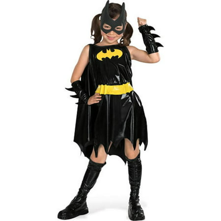 Girl's Deluxe Batgirl Costume - Batman And Batgirl Halloween Costumes