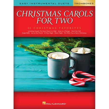 Christmas Carols for Two Trombone Duets: Easy Instrumental Duets (Paperback) ()