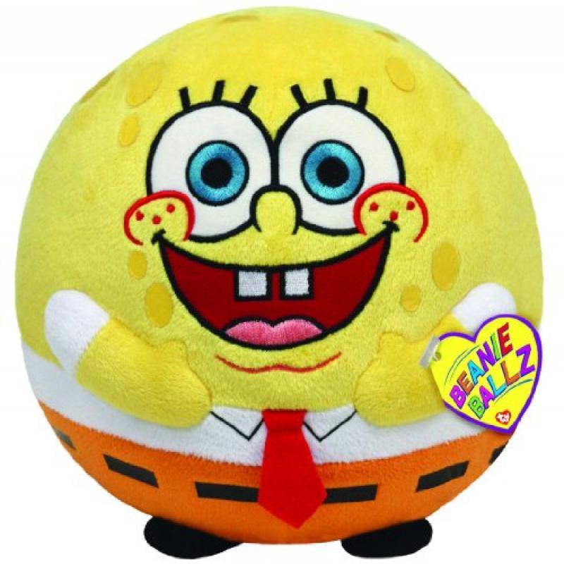 Ty Beanie Ballz Spongebob by