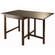 Winsome Wood Lynden Drop-Leaf Dining Table, Walnut Finish