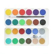 Grumbacher Opaque Watercolor Pan Set, 24-Colors