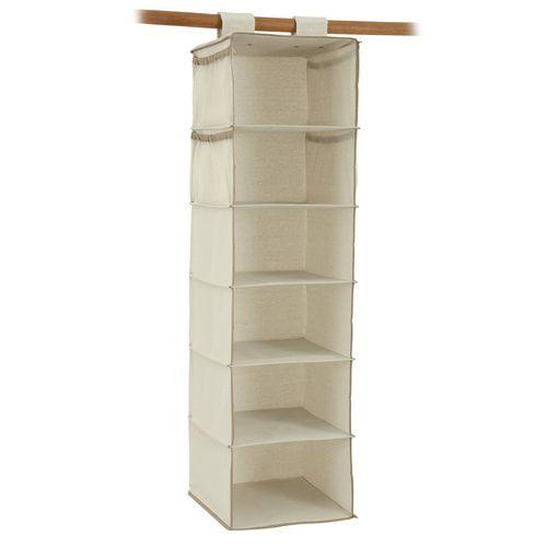 Mainstays 6-Shelf Organizer