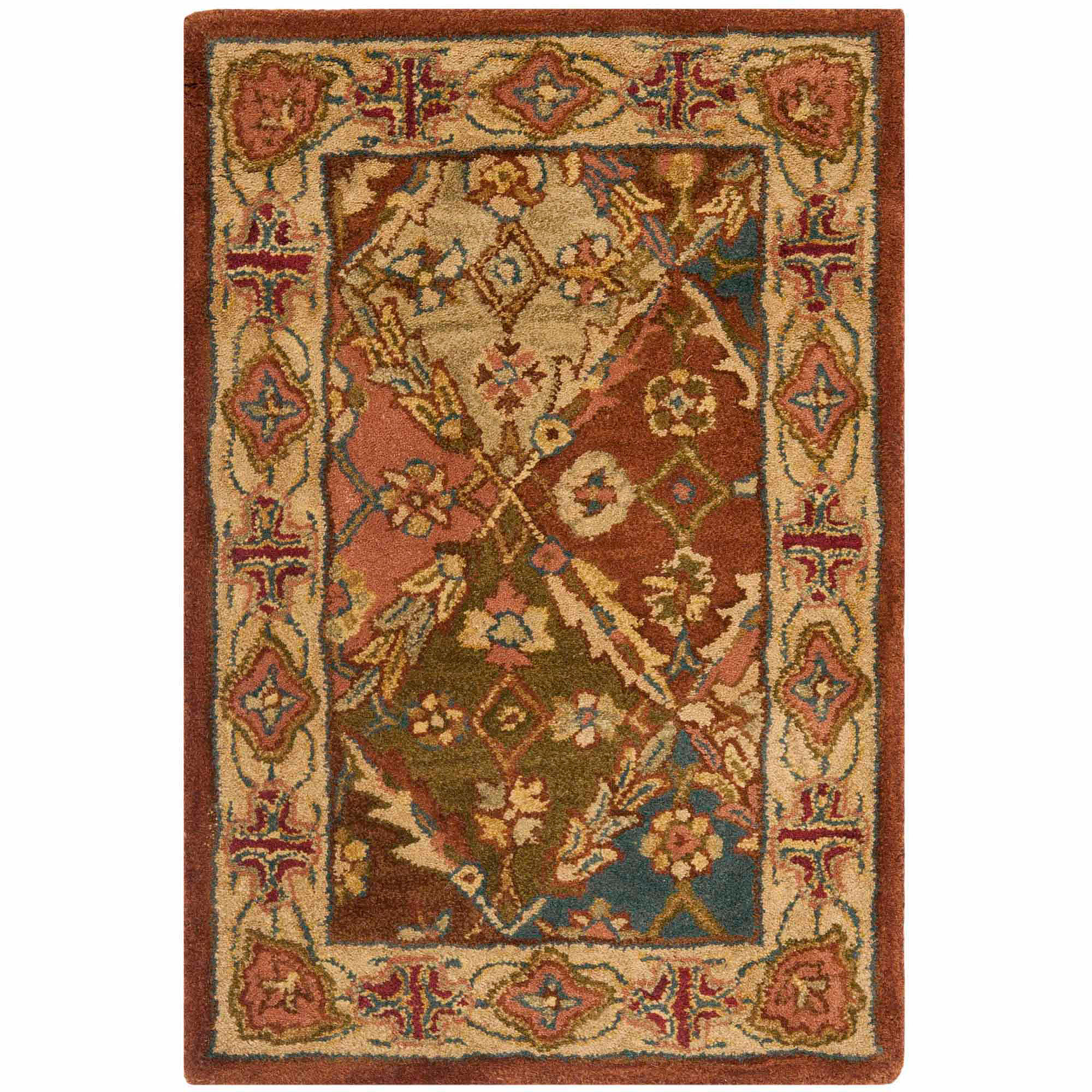 Safavieh Heritage Abbey Hand-Tufted Wool Area Rug