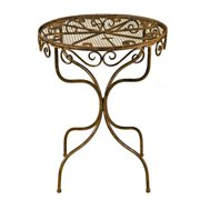 Deer Park Ironworks Imperial Bistro Table