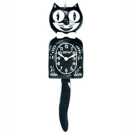 Classic Black Kit Cat Wall Clock 5w X 15 5h In