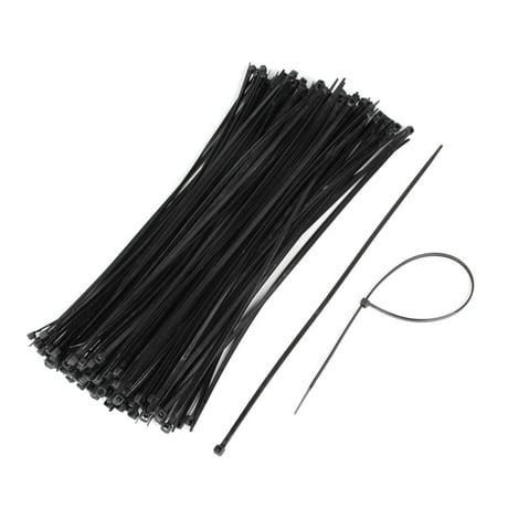 Unique Bargains 200 Pcs Self Locking Nylon Cable Wire Zip Tie Wrap ...