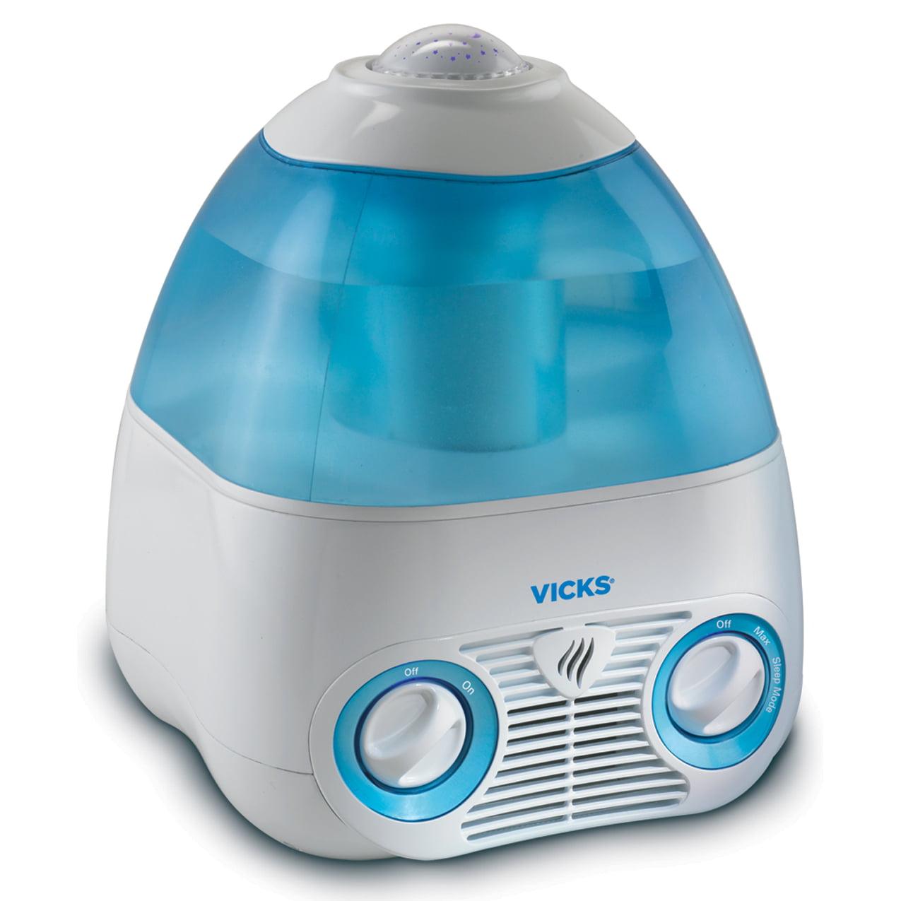 Walmart Humidifier No Filter vicks v3700 starry night cool mist humidifier - walmart