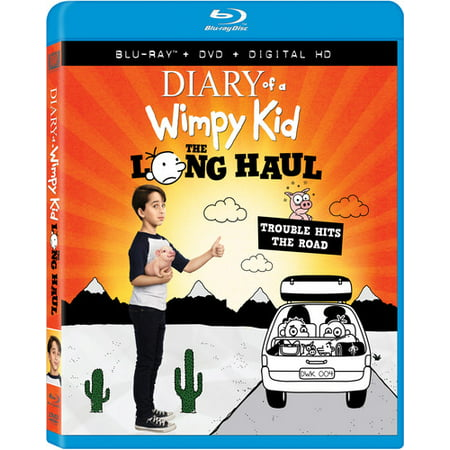 Diary of a Wimpy Kid: The Long Haul (Blu-ray + DVD + Digital