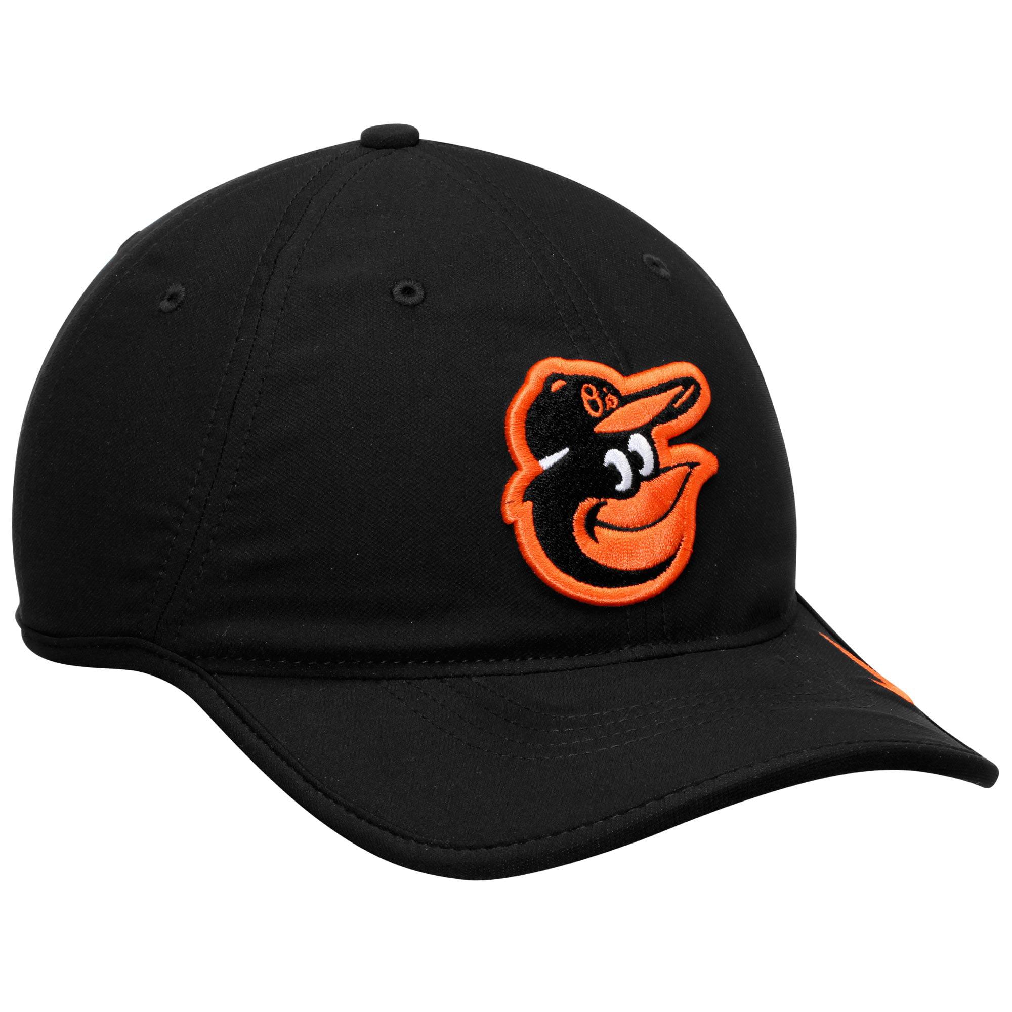 cd593a6f5326b Baltimore Orioles Nike Team Logo Heritage 86 Aero Performance Adjustable Hat  - Black - OSFA - Walmart.com