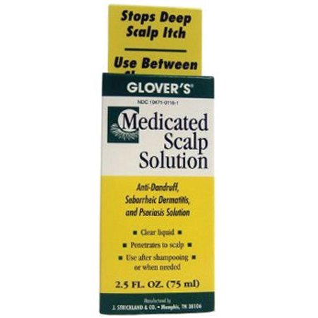Glover's Medicated Scalp - Scalp Solution