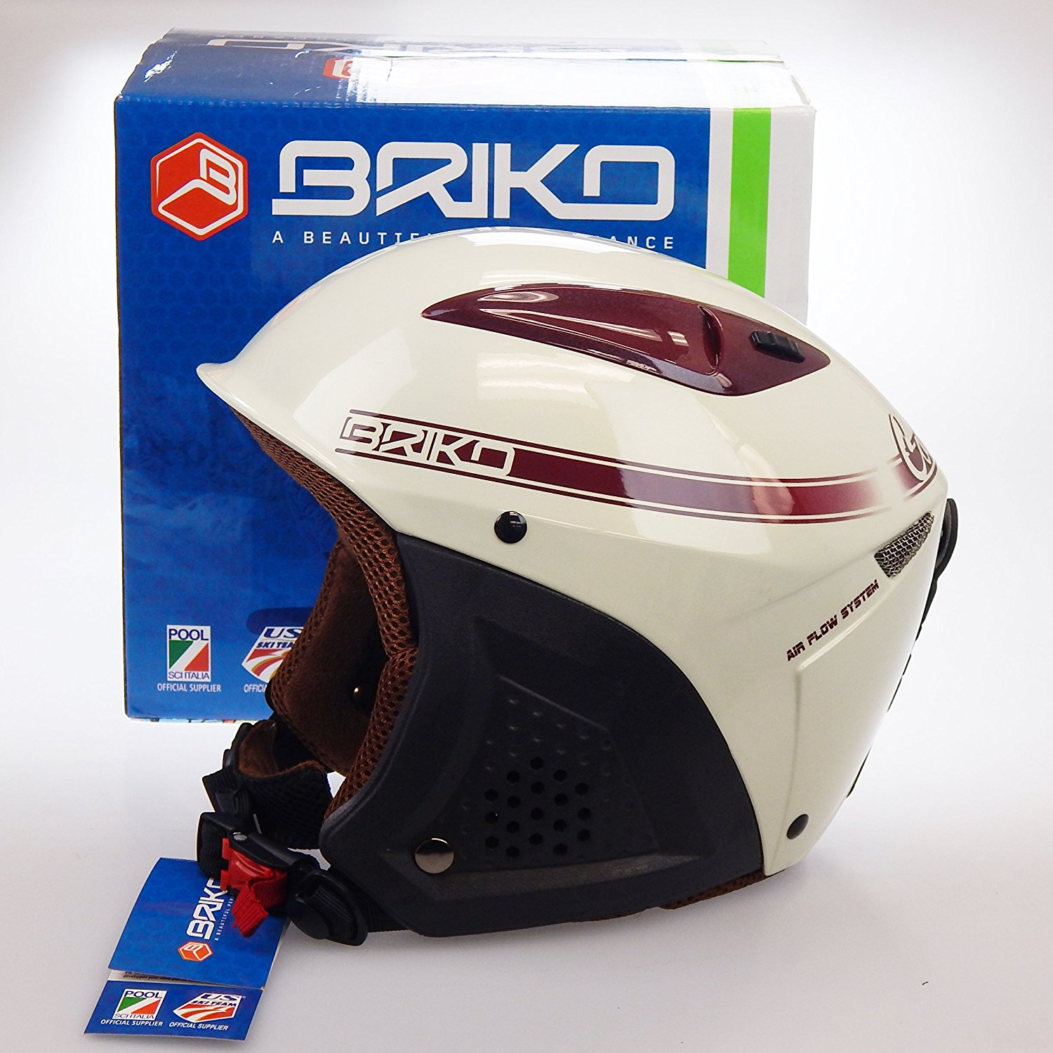 Briko Colorado Helmet Champagne Size: 54CM by SOGEN SPORTS INC.