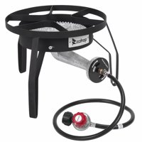 Akoyovwerve ZOKOP Single Burner Outdoor Stove for Cooking,Gas Propane Stove Cooker 200,000 BTU Camping Stove