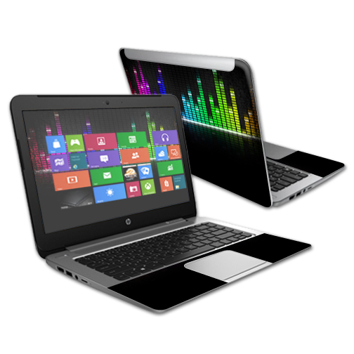 """Mightyskins Protective Vinyl Skin Decal Cover for HP Stream 14"""" (2015) Laptop Cover wrap sticker skins Keep The Beat"""