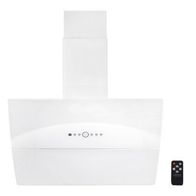 Image of 36 inch 760 CFM Wall Mount Ventless Ductless Range Hood with Touch Panel Finish: White