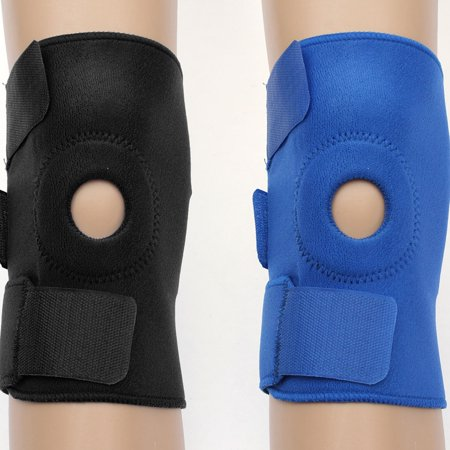 Compression Open-Patella Sports Knee Brace Sleeve Support Best Knee with Adjustable Strapping & Breathable