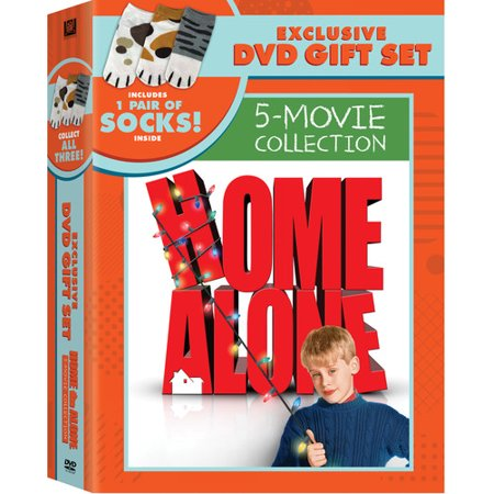 Home Alone 1-5 Collection (DVD + Socks) (WM Exclusive) - Buzz Home Alone