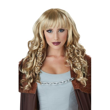 Dirty Blond Wig (Dirty Blonde Warrior Queen Adult)