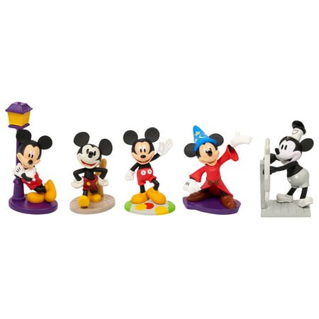 Mickey Mouse 90th Anniversary 5-Piece Collectible Figure Set