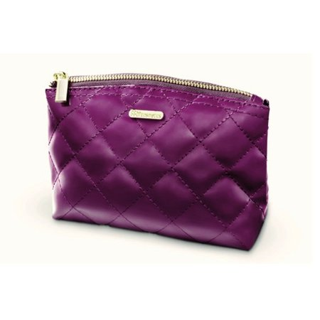 ba0382927b10 BH Cosmetics Grape Quilted Makeup Bag - Purple - image 1 of 1 ...