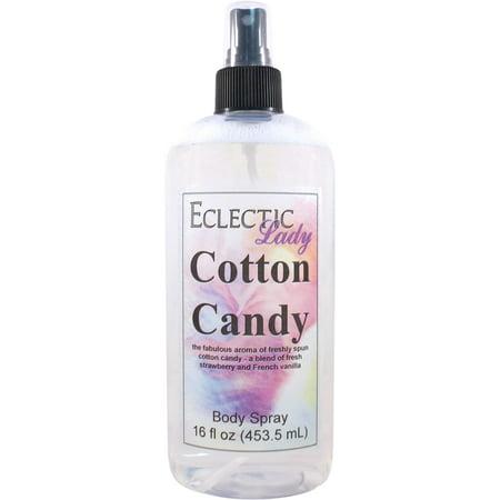 Cotton Candy Body Spray, 16 ounces (Winter Candy Body Spray)
